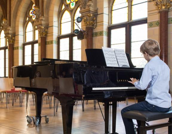 Klavierunterricht bei Polyhymnia