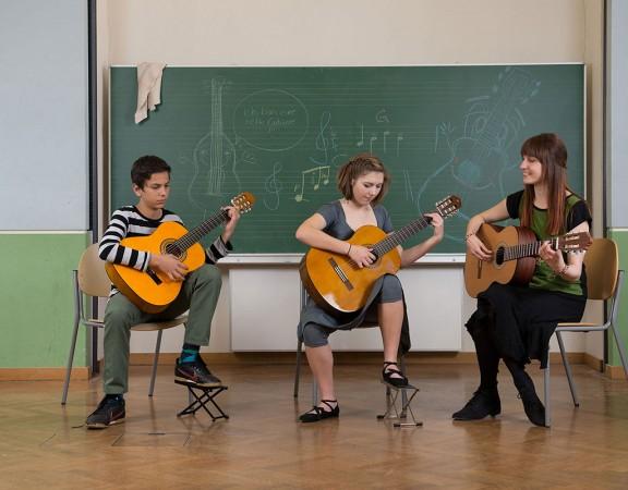 Gitarrenunterricht für Kinder in Wien
