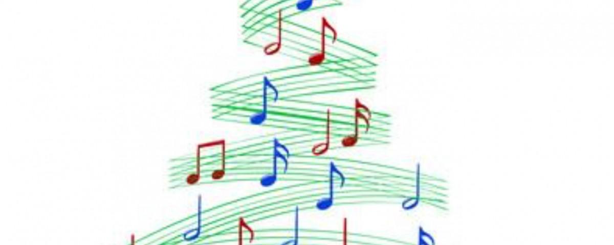Musik-Tannenbaum